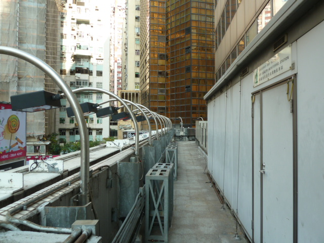Causeway Bay monitoring station overview on 4/F Podium