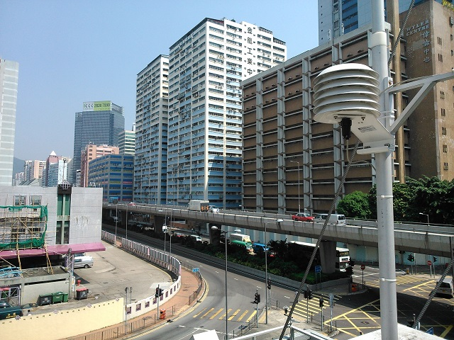 Kwai Chung monitoring station East view