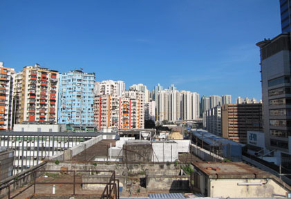 Kwun Tong monitoring station East view