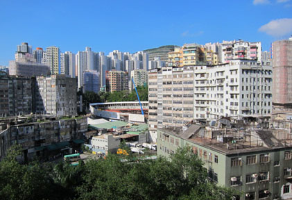 Kwun Tong monitoring station North view