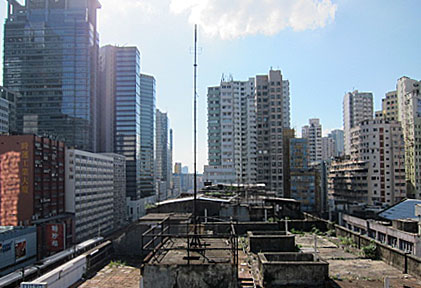 Kwun Tong monitoring station West view