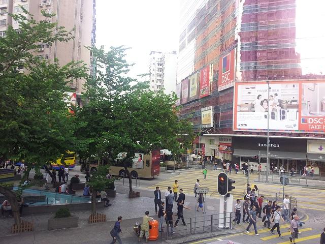 Takbelysning I Koket : Mong Kok Monitoring Station East View