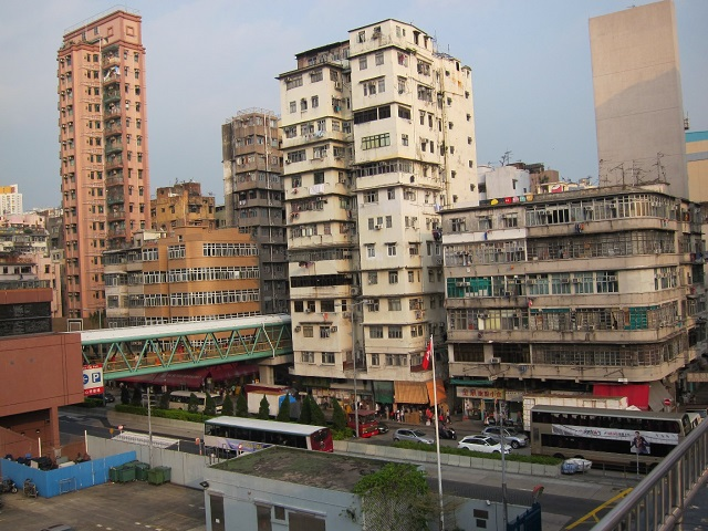 Sham Shui Po monitoring station East view