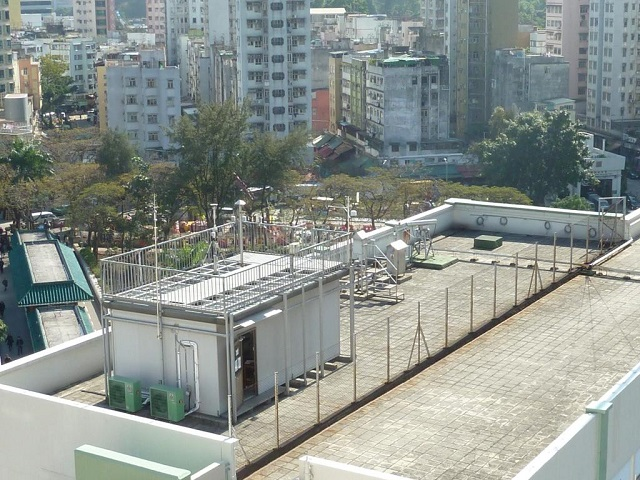 Tai Po monitoring station Overview
