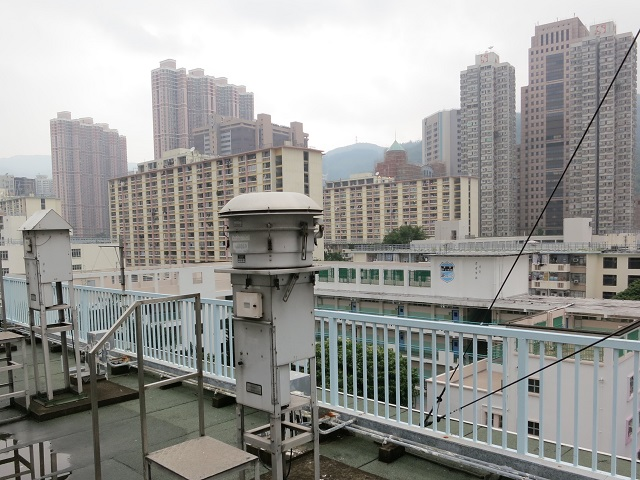 Tsuen Wan monitoring station North view