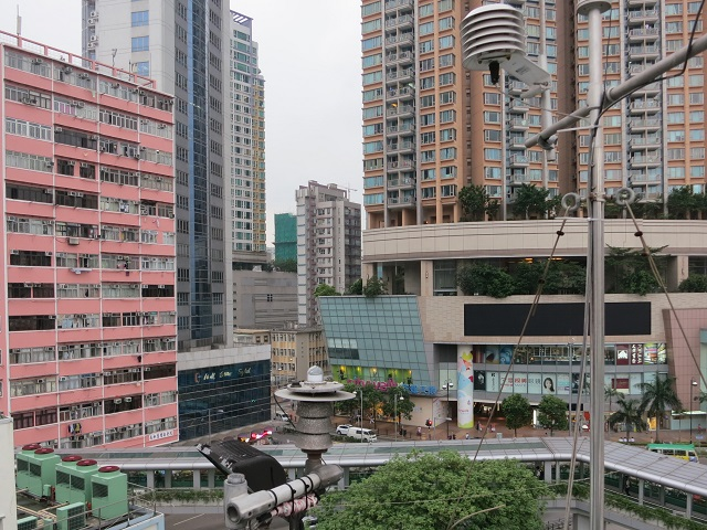 Tsuen Wan monitoring station South view