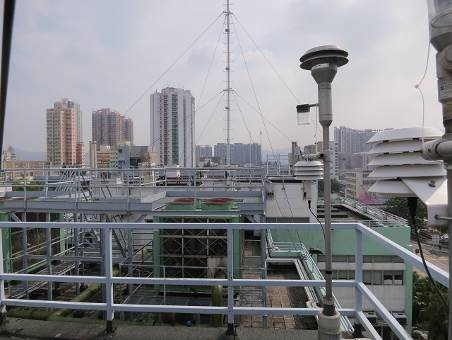 Yuen Long monitoring station South view